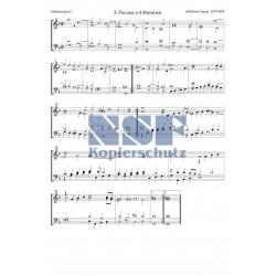 3. Pavana a 4 Stimmen in F-Dur
